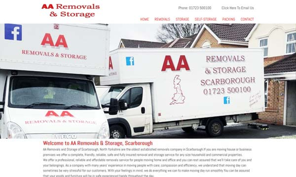 AA Removals Scarborough