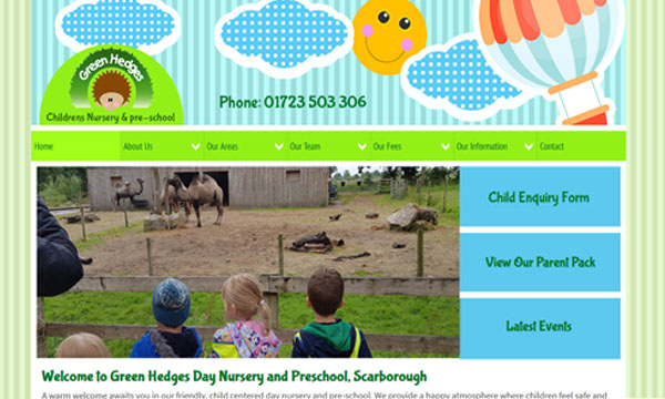 Green Hedges Day Nursery, South Cliff, Scarborough