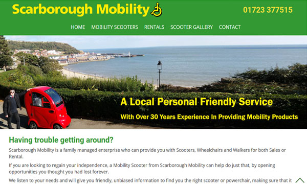 Scarborough Mobility Website