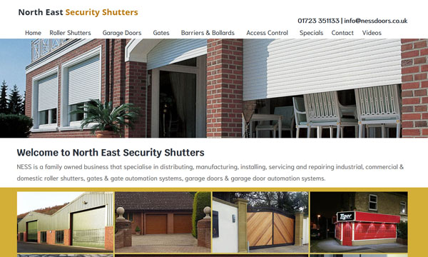 North East Security Shutters